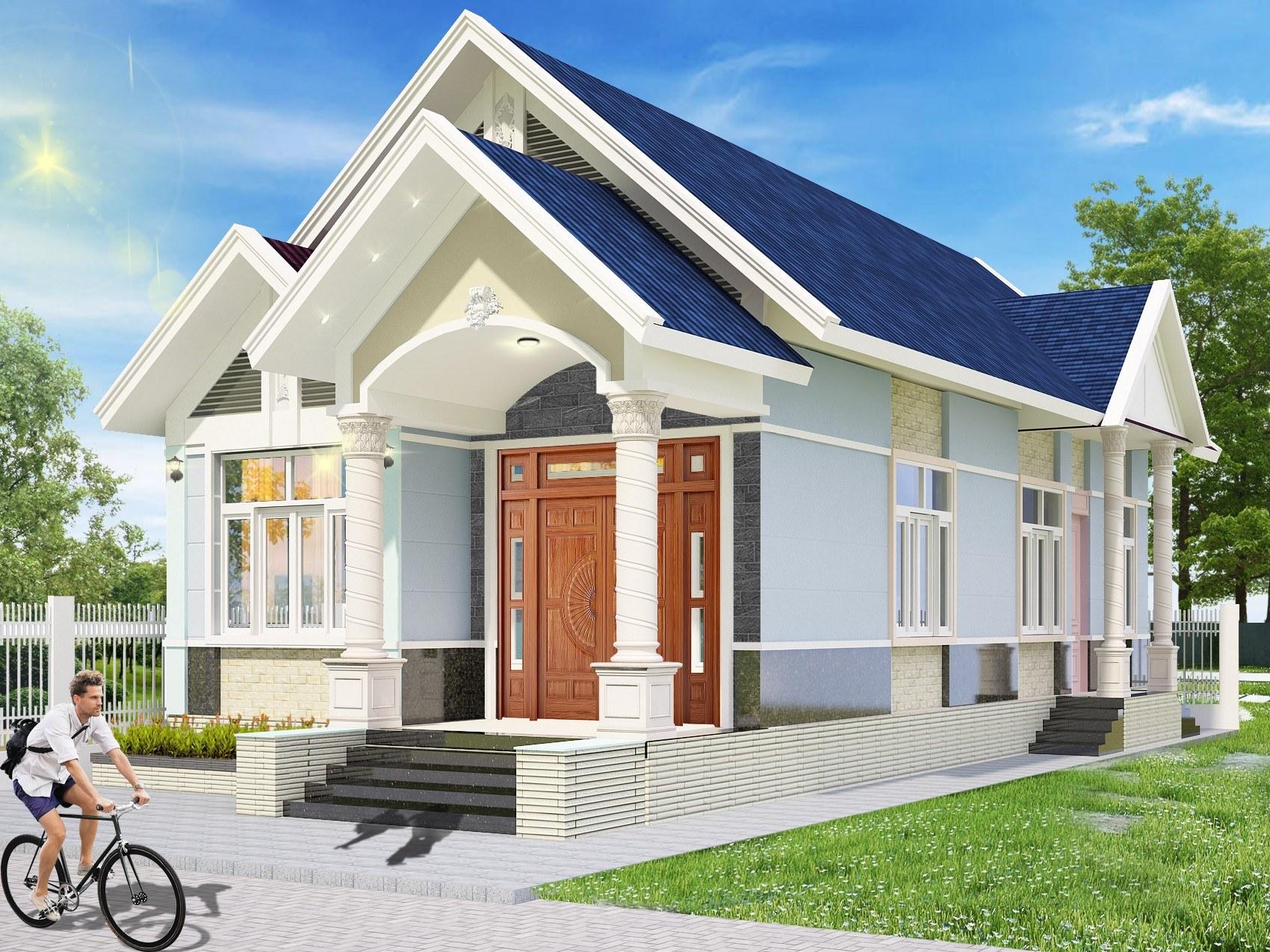 Những mẫu nhà cấp 4 giá dưới 300 triệu khu vực Đồng Nai