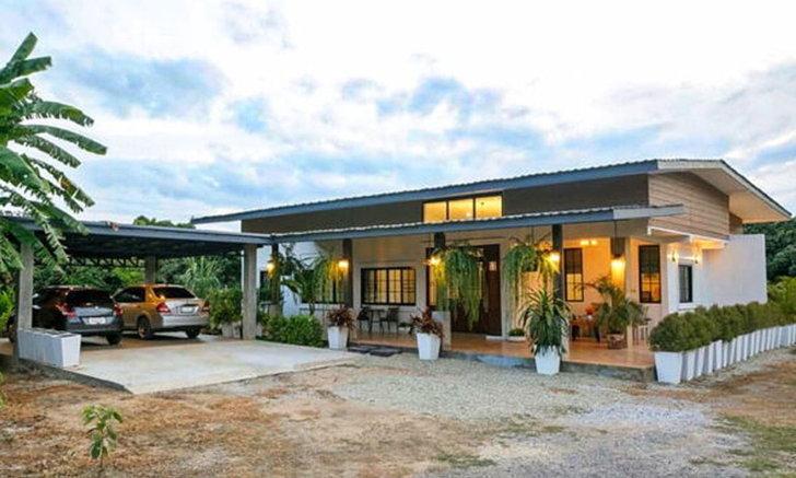 Nhà vườn 3 phòng ngủ dành cho gia đình đông người