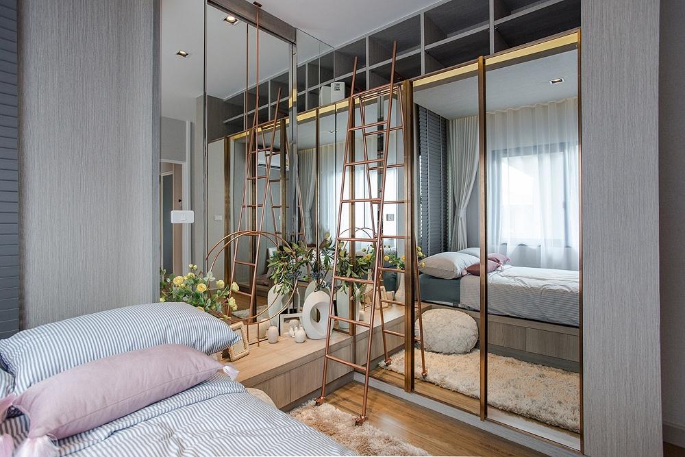 Thiết kế phòng ngủ mini đẹp và đầy đủ chức năng