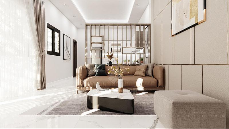 Thiết kế nội thất nhà 2 tầng hiện đại, đơn giản, dễ chịu
