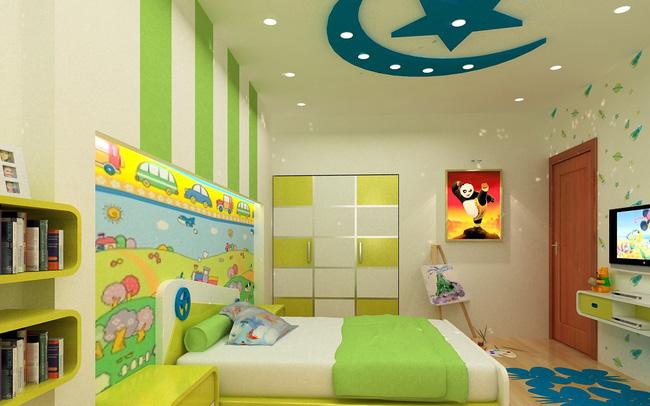 Những ý tưởng trang trí phòng trẻ em sáng tạo