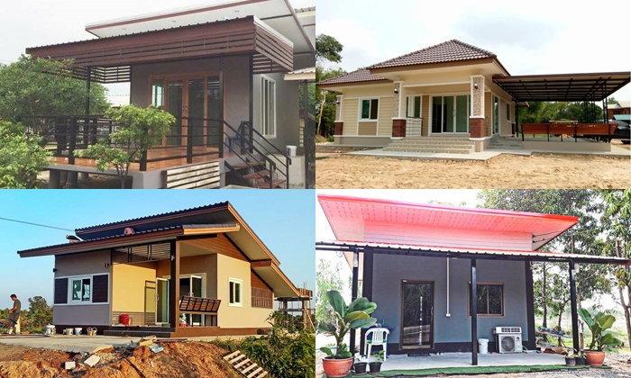 10 mẫu nhà 1 tầng kiểu thái đơn giản tiện nghi và xây dựng giá rẻ