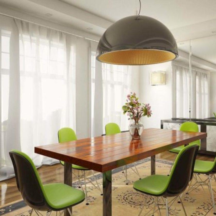 Thiết kế phòng ăn lấy cảm hứng từ nhà hàng